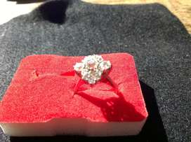 cincin berlian 2,5 carat antik dipotong brillian
