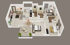 2bhk for sale Nearby Moze College