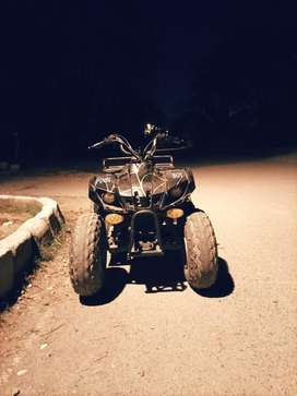 Atv (4 wheeler bike)
