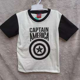 Kaos anak laki laki 3 tahun