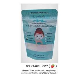 Masker organik strawberry