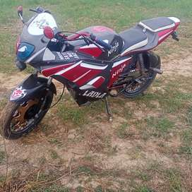 Full modified bike 70cc exchange possible hai