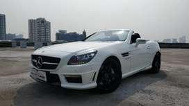 SLK55 V8 AMG Convertible 2014 NIK 2013 White on Black 11rb km CBU