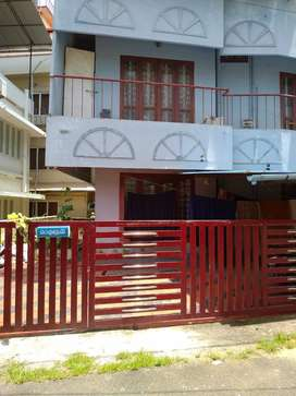Semi-furnished 2bhk flat near Guruvayurappan temple n Guruvayur