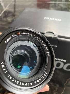 Lensa fujinon xf 55-200 f3.5-4.8