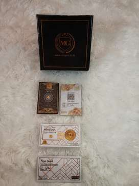 MiniGold Emas Murni 24Karat 0,1gr