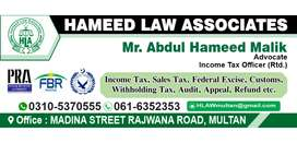 Be in a Active Tax List become a filer and avoid FBR taxes