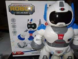 mainan anak robot dance baru
