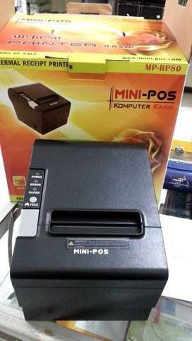 Printer kasir Mini pos MP-RP58, thermal printer, uk kertas 58mm