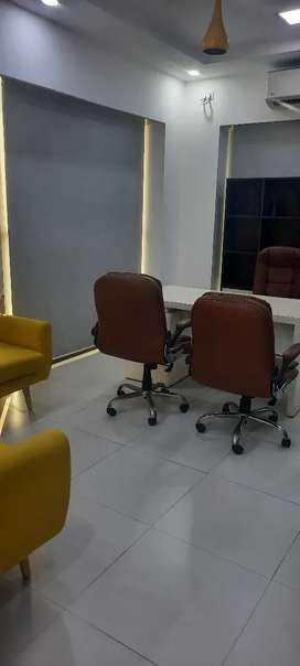 5500sft fully furnished office space for rent in Noida sector 63