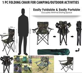 Travel Ultralight Folding Chair Super hard High Load Outdoor Camping C