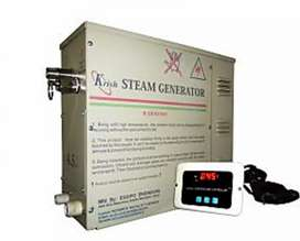 Steam bath machines