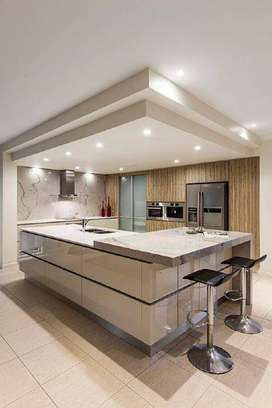 FURNITURE KITCHEN PLAFON ARSITEKTURE BAJA RINGAN INTERIOR