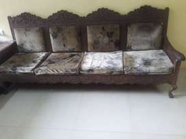 I have sofa set. Length is 7.5 width 2 feet.call between 12pm to 6pm.