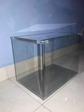 7.3 gallon aquarium curved glass