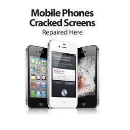 We offer broken phone display repairing service