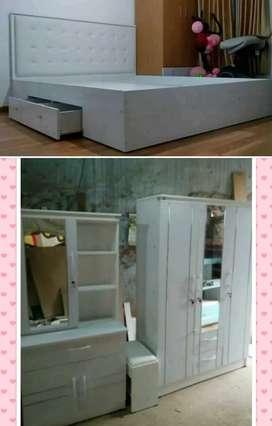 Galery online shop All Furniture.1 Set Minimalis 3 Unit.Pembayaran COD