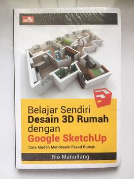 Buku Desain 3D Rumah dengan Google SketchUp