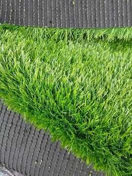 Karpet matras rumput sintetis rumah dan perkantoran dll