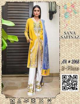 Sana Safinaz Brand AH 2068 at Best Quality  Lawn at Wholesale Price