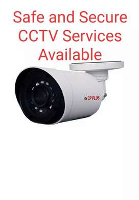Safe and Secure CCTV Services Available