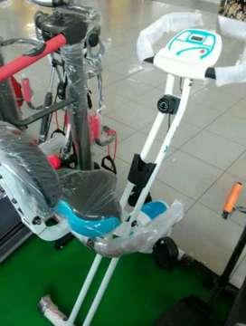 Sepeda statis fitur lengkap siap antar bayar di rumah