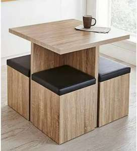 4 × 4 dining table