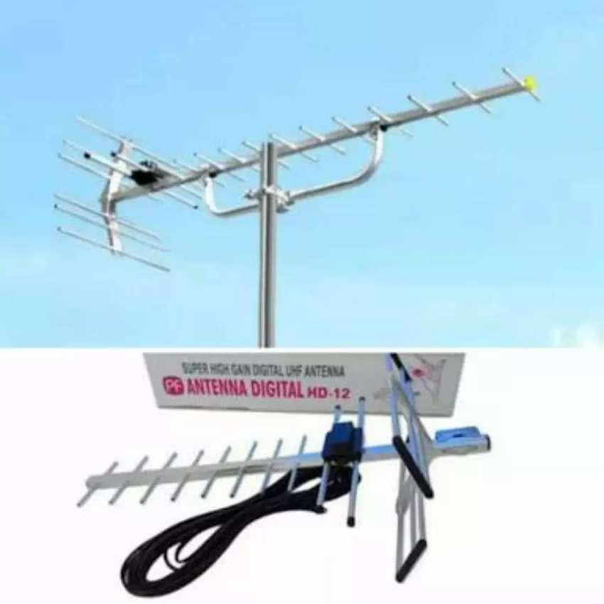 Terima pasang antena tv uhf hd lokal yagi 0