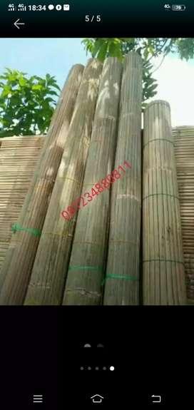 Tirai bambu kokoh tak tertadingi