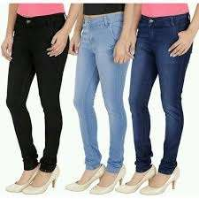 Ladies Jeans-all Colors In Wholesale Price