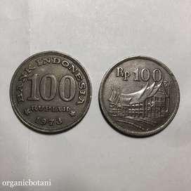 Uang Logam Rupiah Kuno. Asli