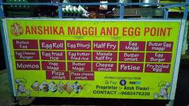 fast food counter rent pe chala na ho to 3000 per month  direct sold