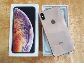 Apple iphone Xs Max 256gb gold brand new mobile