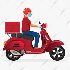 DELIVERY PERSON REQUIRED FOR BIHAR