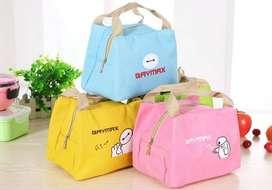 BAYMAX - Lunch bag Cooler bag (bonus 1pcs jelly ice cooler)