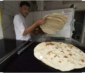 Chapatti,pure,dhosa,and all porotha contract is available