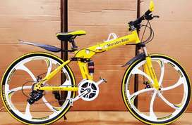Brand New Foldable Cycle (7 Colors Available)