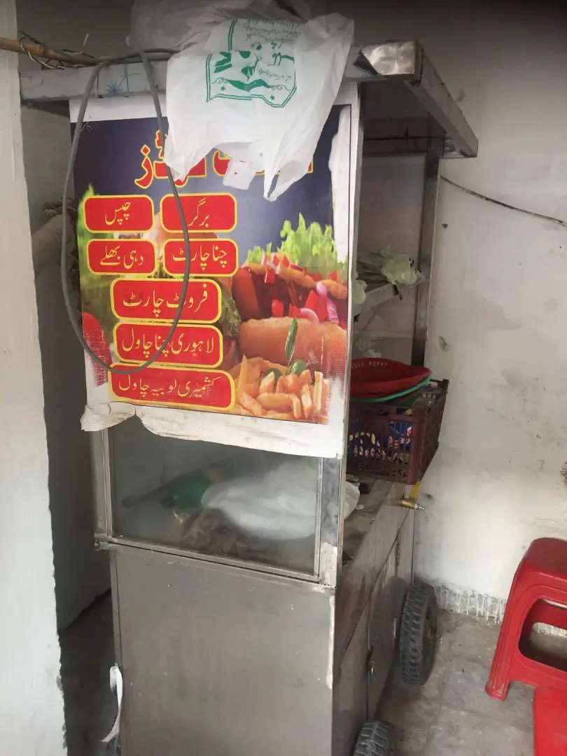 Food counter for sale 3 in 1 with tyres Moveable