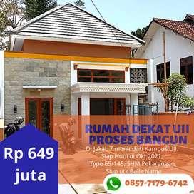 Jual Rumah Baru Type 75 di Jogja, Jakal.