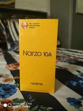 Realme narzo 10a avaliable seald pack