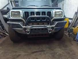 BUMPERS EXTRA FITTING  PACKAGE FOR THAR BOLERO AND SCORPIO