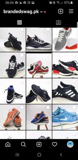 Orignal Branded Sneaker Authentic Shoes Nike, Puma Adidas, Asics & NB