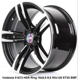 VELGVALDESTA 51673 HSR R18X85/95 H5X120 ET35 BMF