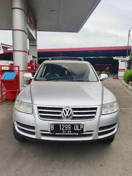 VW Touareg 2005AT  Diesel km 66rb pajak hidup no dandan &PR istimewa