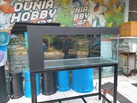 Jual akuarium kaca berbage ukuran