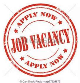 Male and female job vacancy