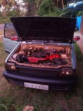 Maruti Suzuki 800 2003 mpfi engine