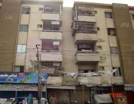 Anarkali Plaza Two bed DD Flat For Sale In North Karachi - Sector 5-k