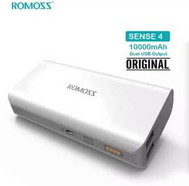 Orginal Romoss Seal Pack Power Bank 10,000mah
