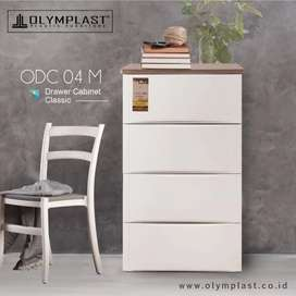 Lemari Plastik Olymplast ODC 04 Modern